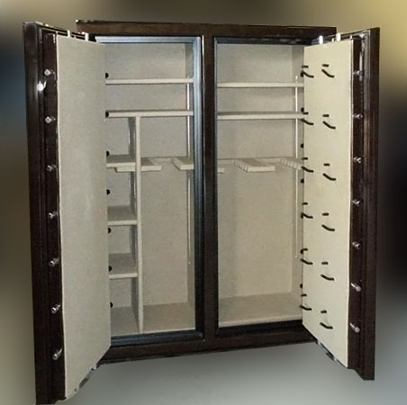 double wide gun safes double door safes extra large safes pentagon
