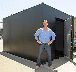 Modular security shelters and safe rooms