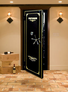 Gun safes vault doors vault room doors modular storm for Custom safe rooms