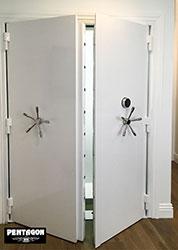 click to enlarge vault doors by pentagon