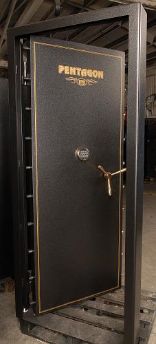 Inward swinging vault door ... & Vault Doors Vault Room Doors Storm Shelter Doors Safe Room and ...